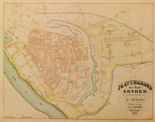 Uitbreidingsplan Heuvelink 1853