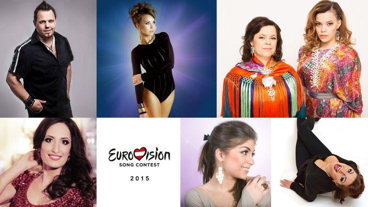 Ylva & Linda - 6 Eurovision videos 2015 (Live TV performances)