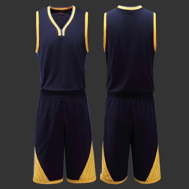 e7c717c75 MILANKERR Men s Blank Basketball Jersey Set (4 Colors)