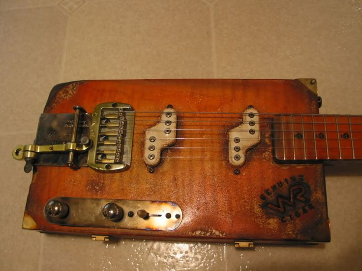 how to build a cigar box guitar youtube