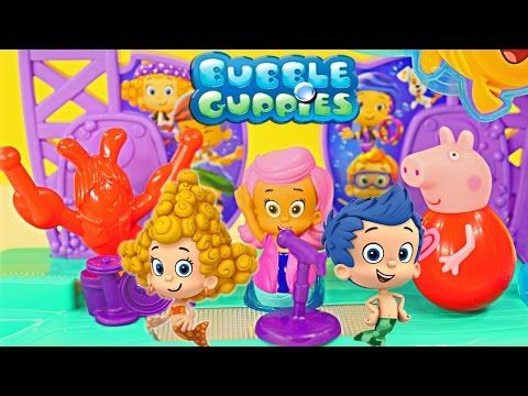 Bubble Guppies Rock & Roll Stage Nickelodeon Toys Peppa Pig Music Songs Fisher Price - YouTube