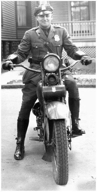Buffalo (NY) Police Motorcycle Officer  Do you remember when the police wanted to help you???