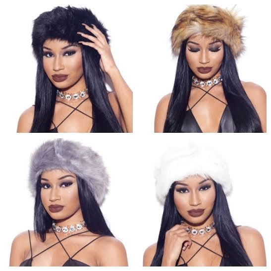 fur headband hats | fancykouture