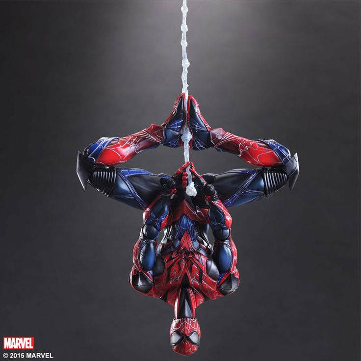 Spiderman Play Arts Kai Action Figure - Spiderman Variant @Archonia_US