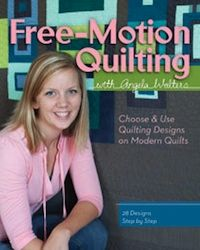 Free-Motion Quilting with Angela Walters: Free Mots Quilt, Quilt Design, Quilt Book, Free Motion, Quilting, Freemotion Quilt, Machine Quilt, Modern Quilt, Angela Walter