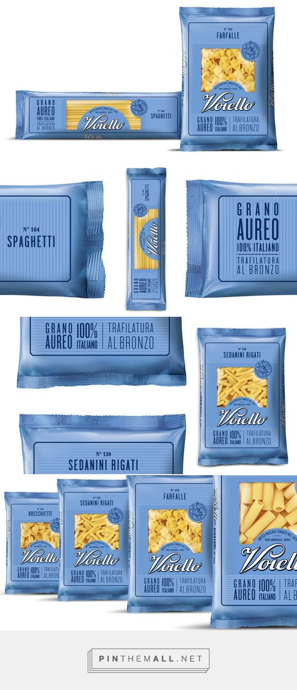 Voiello pasta designed by Isabela Sertã. Pin curated by #SFields99 PD