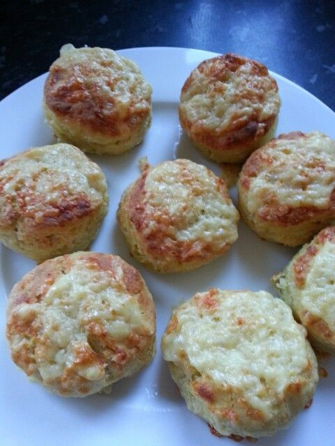 My first attempt at cooking cheese scones in my Remoska.