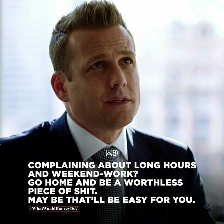 YOU HAVE TO BE IN LOVE WITH YOUR WORK. People who love the game and love winning, don't complain. They work, enjoy long hours. Rest of 'em evaporates soon enough. . . . #whatwouldharveydo #harveyspecter #motivationalquotes #gabrielmacht #life #weekendhustle #work #longhours #harveyspecterquotes #hustlehard #unbreakable #wwhd – Brenda Jennett