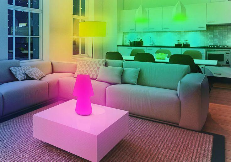 Meer dan 1000 idee n over led verlichting thuis op pinterest binnenverlichting en lichtontwerp - Decoratie kamer thuis woonkamer ...