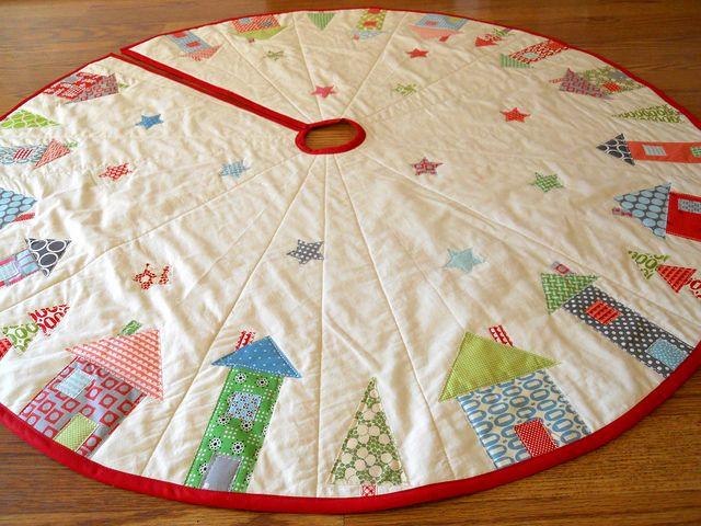 Christmas Tree Skirt!