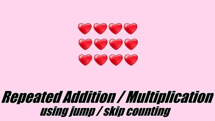 Repeated Addition and Multiplication Facts Using Jump Counting / Skip Co...