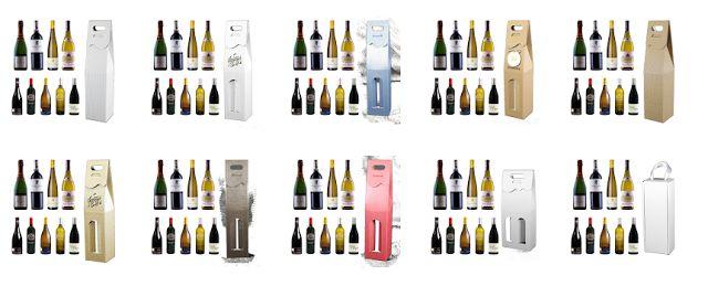 Opakowania do wina i kosze prezentowe dla Firm: Pudełko na alkohole
