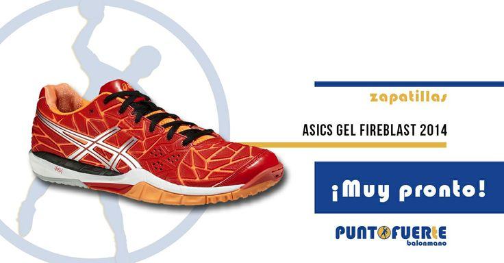 Nuevas #Asics Gel Fireblast Rojo-Naranja. Flexibilidad, comodidad y un diseño espectacular. ¿Te gustan? www.puntofuerte.es ¡Resérvalas! #zapatillas #balonmano #PuntoFuerte