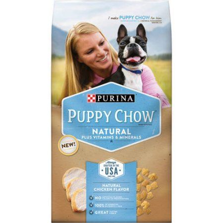 Purina Puppy Chow Natural Plus Vitamins & Minerals Dog Food 3.8 lb. Bag