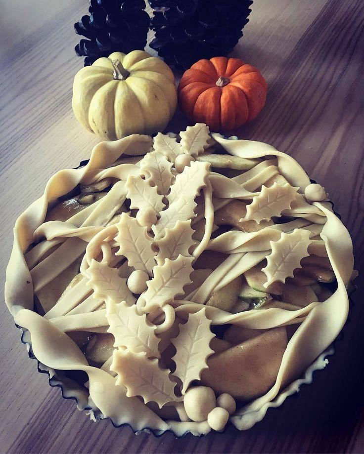 Twist crust apple pie