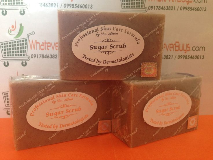 Sugar Scrub Soap (Professional Skin Care Formula by Dr. Alvin)  available on WhateverBuys.com - FREE SHIPPING NATIONWIDE