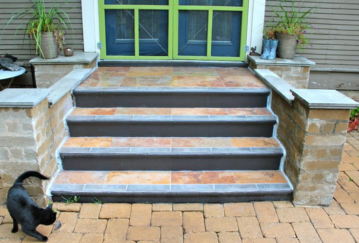 17 Best Images About Porch Ideas On Pinterest Concrete Porch Concrete Fron