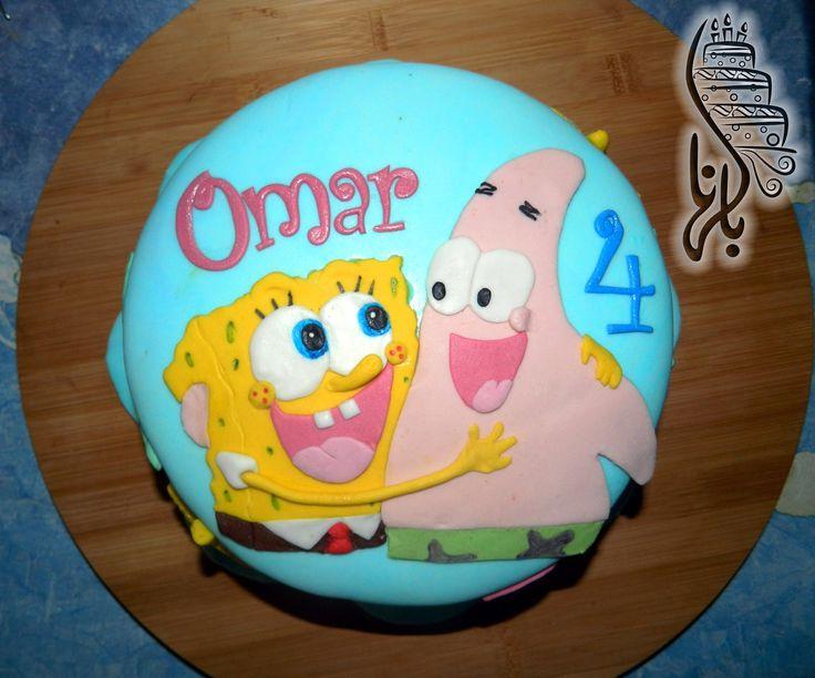 11 best SPONGEBOB cakes images on Pinterest Spongebob Birthdays