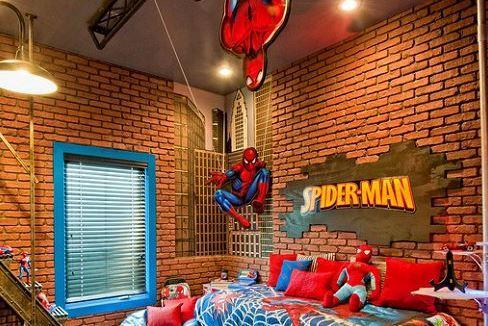 spiderman bedroom