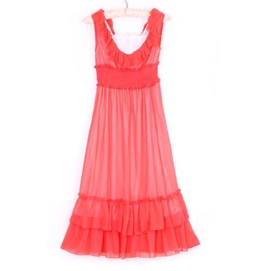 dress summer boho long dress
