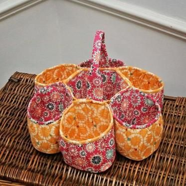 Honeycomb basket by Marianne Cant
