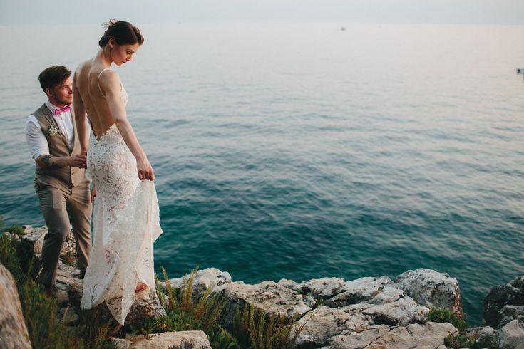 ,valódi esküvők,esküvő,esküvői ruha,menyasszonyi ruha,tengerparti esküvő,tengerpart,tenger,esküvői beszámoló,