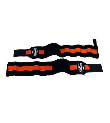 """Iron #tanks #heavy duty 18"""" gym #wrist wraps straps weightlifting bodybuilding #0,  View more on the LINK: http://www.zeppy.io/product/gb/2/290693283037/"""
