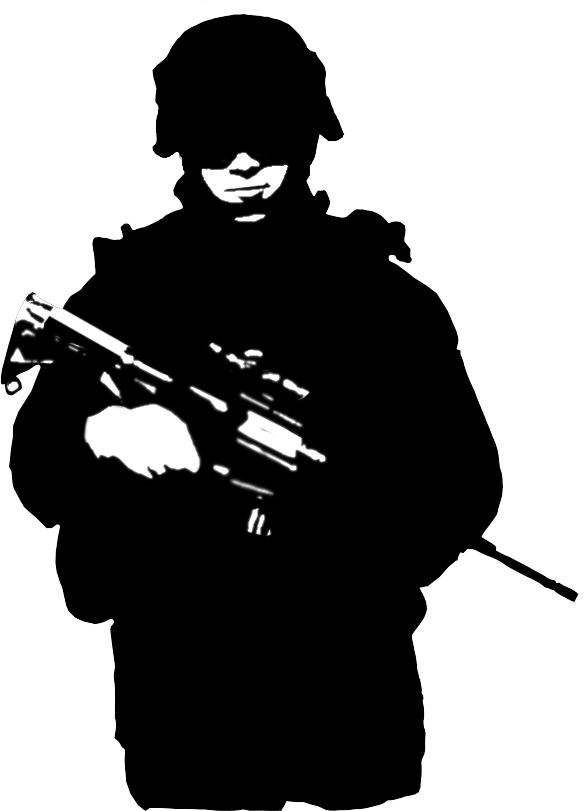 Soldiers silhouette and search on pinterest
