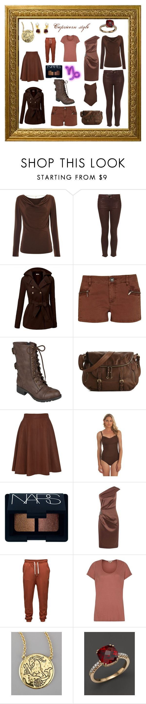 """""""Capricorn style"""" by slapyourself ❤ liked on Polyvore featuring Michael Kors, Topshop, J.TOMSON, River Island, Hailey Jeans Co., Temperley London, Athena, NARS Cosmetics, Planet and Jack & Jones"""