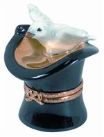 Magician's Hat With Dove Limoges Box