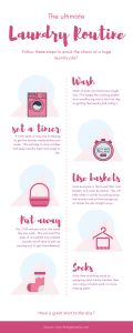 the laundry hack infographic
