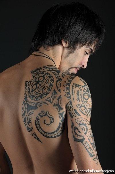 Tribal totem tattoo totem tattoo pinterest totem for Tribal shoulder blade tattoos