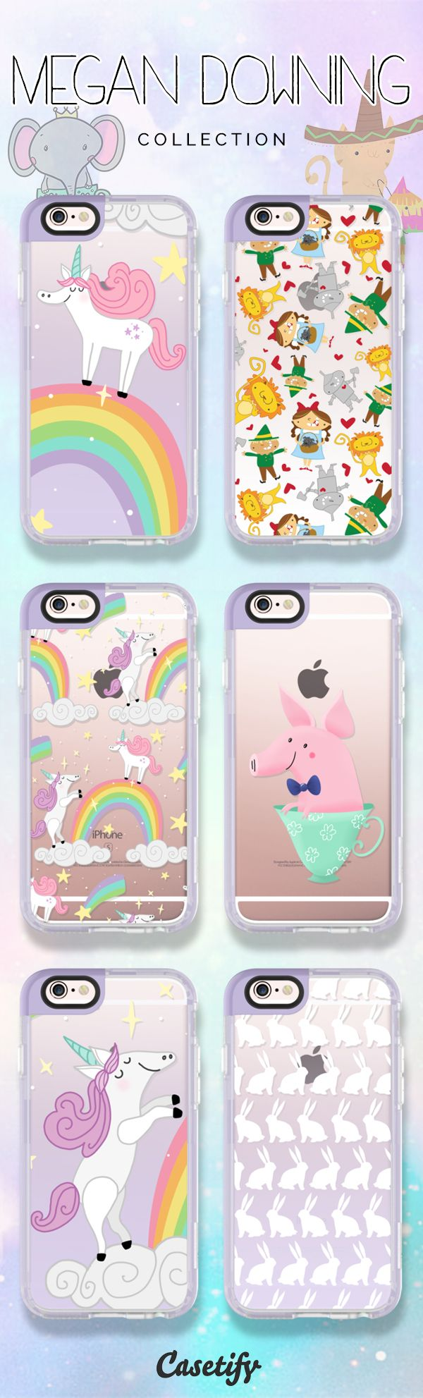 Do you want these cute cases designed by Megan Downing? Shop them here: https://www.casetify.com/PigAndPumpkin/collection | @casetify