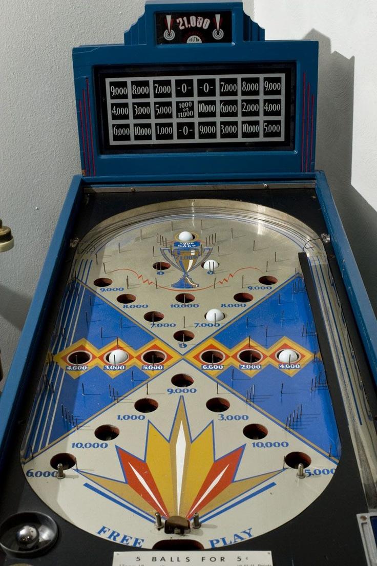 1935 Rockola 21 000 Pinball The 1930 S Arcade