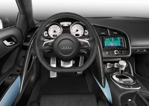 2012 Audi R8 GT    Price:$196,800 MSRP    The 2012 Audi R8 GT Coupe is a 2-door luxury sports car, that is only available in one style of trim. A 6-speed manual with overdrive comes standard with the 2012 Audi R8 GT, and it sports an impressive 5.2-liter, V10, 560-horsepower engine…    Want more? Visit http://lxry.ca