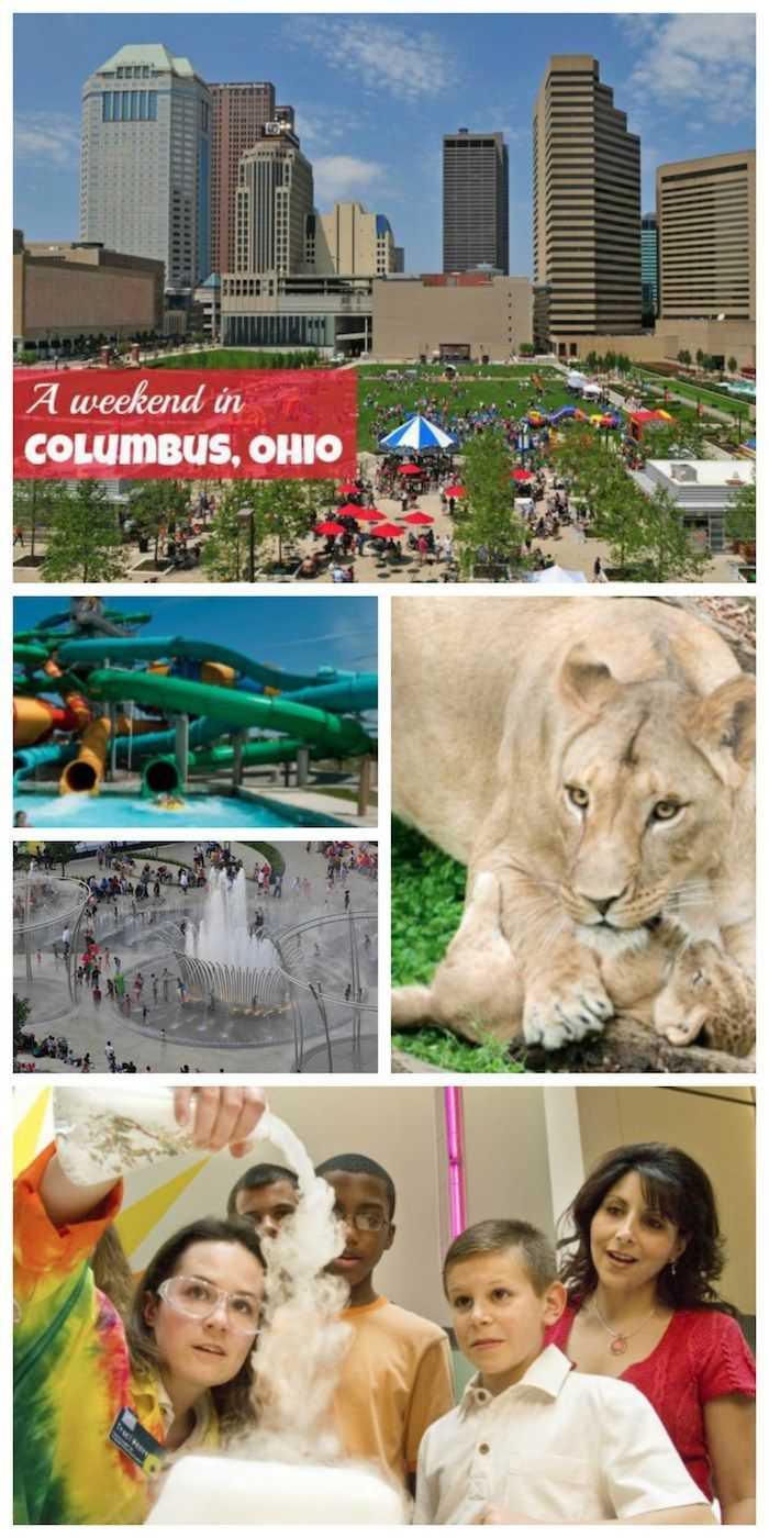 So many fun things to do in Columbus, Ohio -- and we've done all the planning for you! COSI, the zoo and the arts, too.