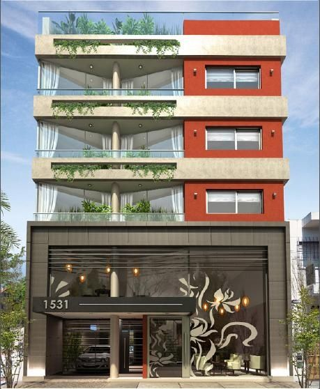 Las 25 mejores ideas sobre fachadas de edificios modernos for Departamentos minimalistas fachadas