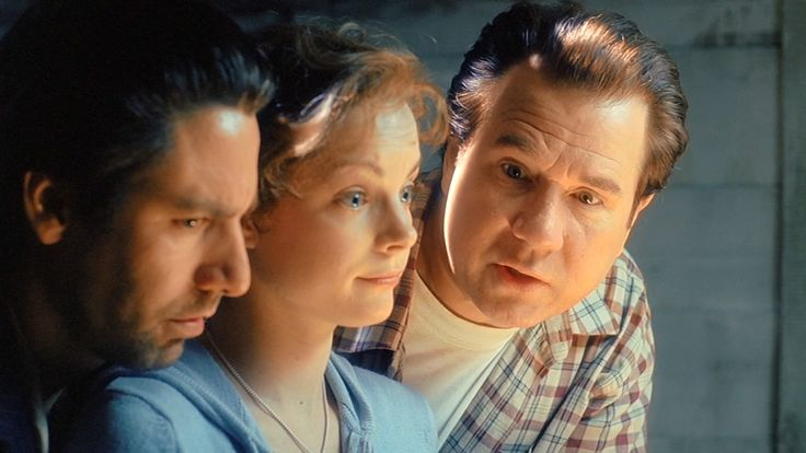 Scott Cohen, John Larroquette, and Kimberly Williams-Paisley in The 10th Kingdom (2000)