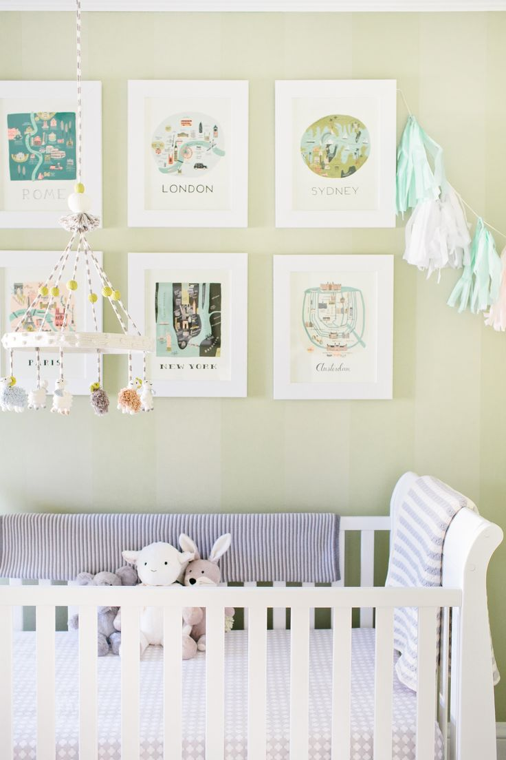 Photography: Canary Grey Photography - canarygrey.com/    Read More: http://www.stylemepretty.com/living/2014/04/03/chic-nursery/