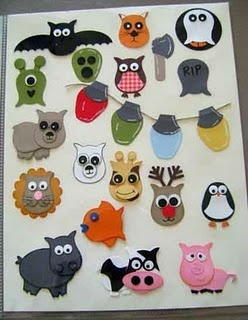 Owl Punch ~ Stampin UP  That little cow is tooo cute!