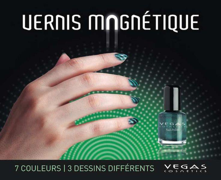 Brillez avec nos nouveaux vernis magnétiques ! Découvrez une manière innovante et facile de donner une touche spéciale à vos ongles. Trois effets différents alliés à des couleurs actuelles et modernes!!! Vernis : 7.5ml / Réf: 723 / 9.00€ Support et 3...