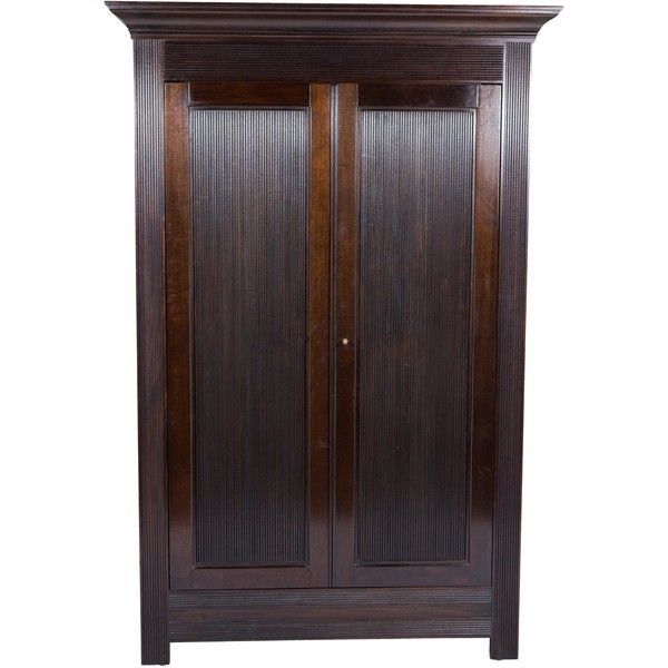 Pre-owned Dessin Fournir Kerry Joyce Hogart Armoire ($10,000) ❤ liked on Polyvore featuring home, furniture, storage & shelves, armoires, brown, oversized furniture, mahogany furniture, second hand wardrobes, secondhand furniture and mahogany wood furniture