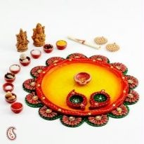 Shop online diwali pooja thali designs and get best online shopping deals for diwali pooja thali designs on Rediff Shopping - Leading Online Shopping Portal in India.