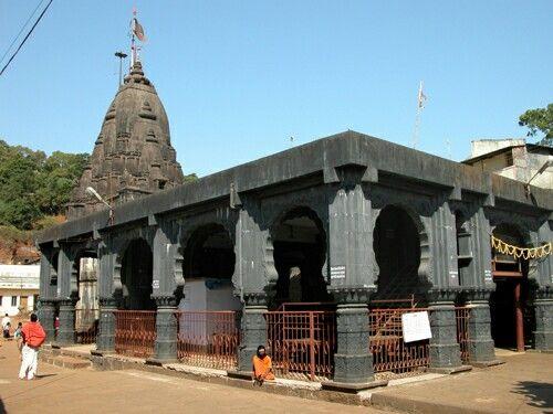 Jyotirling Bhimashankar Temple near Khed Pune Maharashtra.
