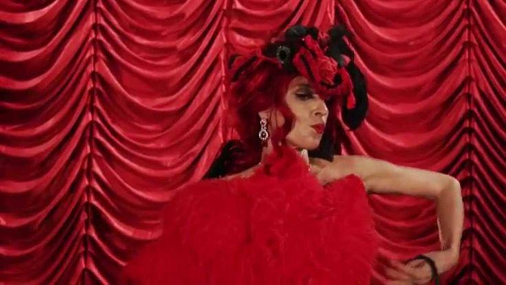 Liked on YouTube: Lou de Boudoir - La Diva