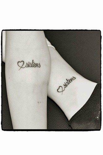 Tatuagens para irmãs