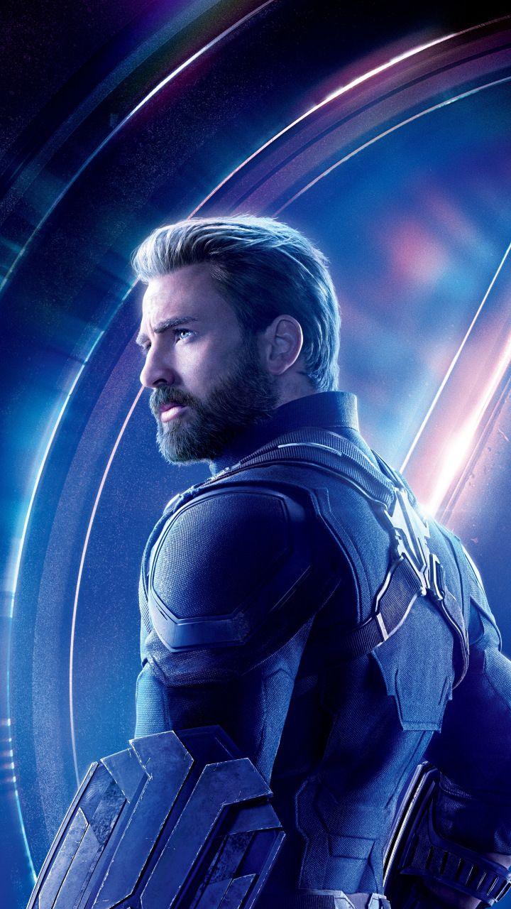Avengers Infinity War Chris Evans Steve Rogers Captain America Movie 720x128 Captain America Wallpaper Marvel Captain America Chris Evans Captain America