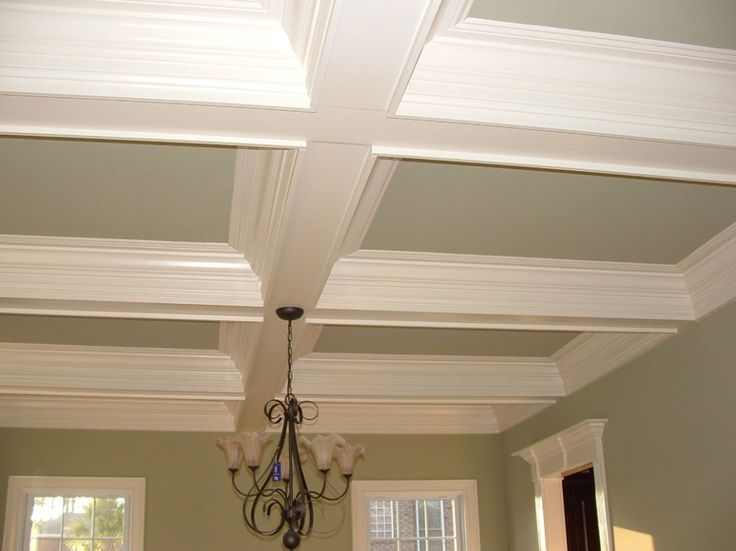 Best Ceiling Trim Ideas Images On Pinterest Ceiling Ideas - Cornice crown moulding toronto wainscoting coffered ceiling
