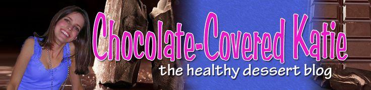 Chocolate Covered Katie: Fun Recipes, Low Calories, No Sugar, No Dairy, Chocolates Fudge, Gluten Free Recipes, Healthy Recipes, Healthy Desserts, German Chocolates