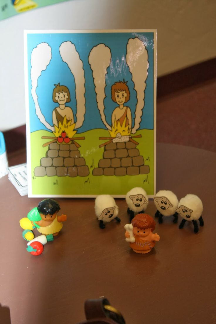 Cain and abel craft ideas - Hands On Bible Teacher Cain And Abel